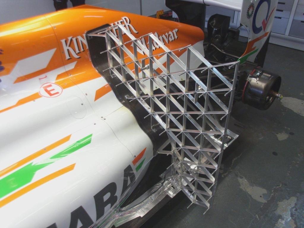 F1 Rake Frame