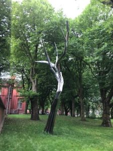 Ghost Tree by Anya Gallacio at Whitworth Art Gallery, Manchester
